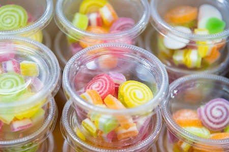 Mix fruits jelly sweet for child