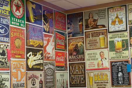 advertisements: Souvenir Shop in York - Vintage Signs & Advertisements