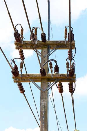 insulator: High Voltage Insulator on High voltage pole