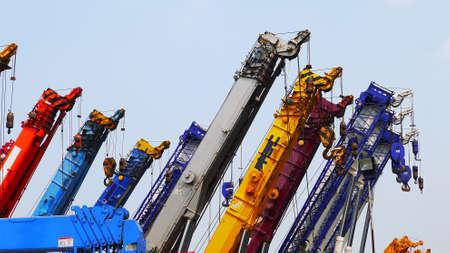 grapnel: Mobile hydraulic cranes,Thailand