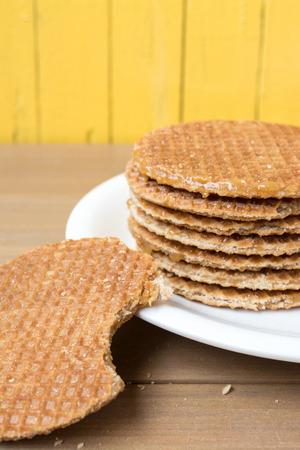 dutch: Dutch Stroop wafel