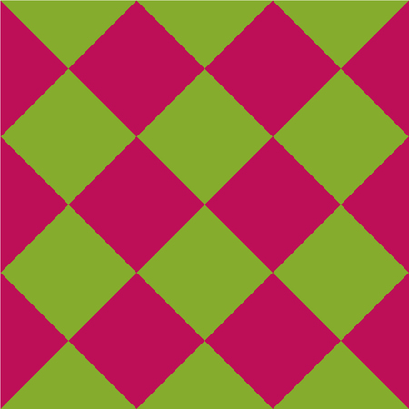 Seamless check pattern in green pink. Vector file eps 10 Standard-Bild - 114798312