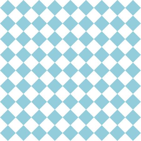 Seamless pattern blue white checkered for the Oktoberfest. Vector file eps10 Standard-Bild - 114798315