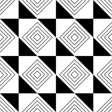 abstract, seamless pattern in black and white.