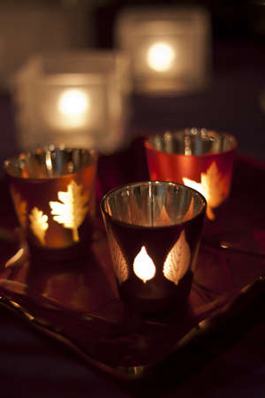 clouse - up photo of three candels