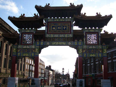 liverpool chinatown Editorial