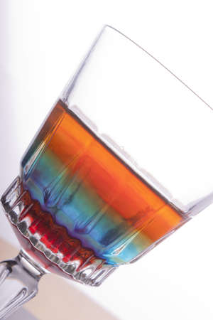 rainbow in a glass photo