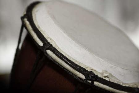 arte africano: cierre - foto de djembe