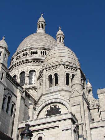 Basilique du Sacre-Coeur Stock Photo