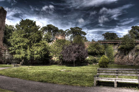 chester: chester walls, hdr