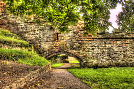 chester walls, hdr