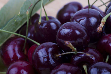 photo of sweet cherries photo