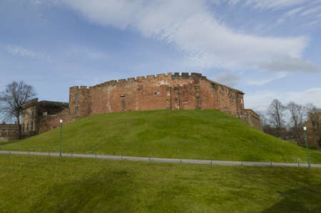 norman castle: Chester Castle built from sandstone by William the Conqueror