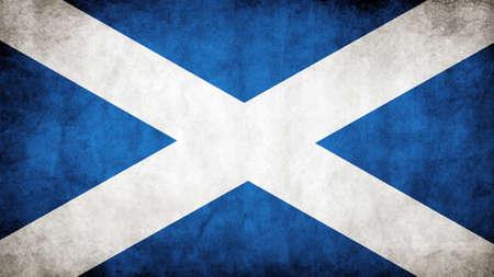 uefa: Die schottische Flagge