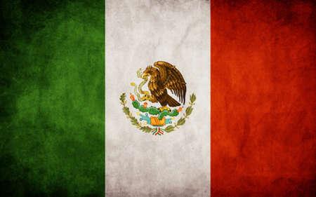 bandera de mexico: Bandera mexicana Vectores