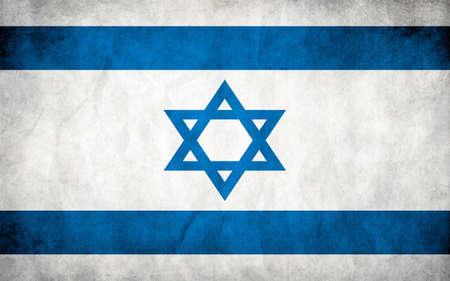 Flag Of Israel Illustration