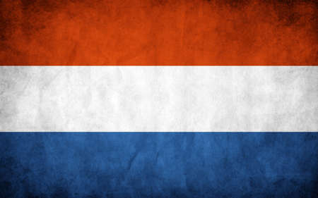 The national flag of the Netherlands