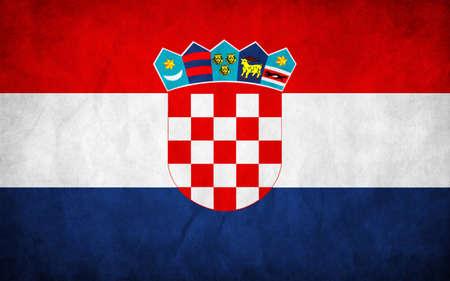 Flag of Croatia Illustration