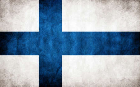 suomi: flag of Finland Illustration