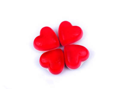 sweettooth: red heart gummy candy