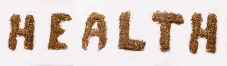Word Health from yerba flakes
