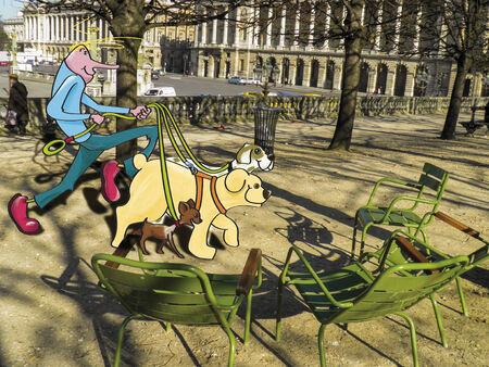 dog walker: Walker dogs in Paris