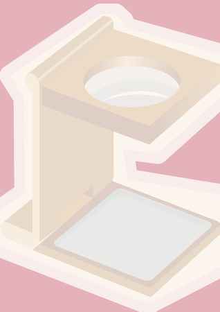 foldable: foldable pink magnify