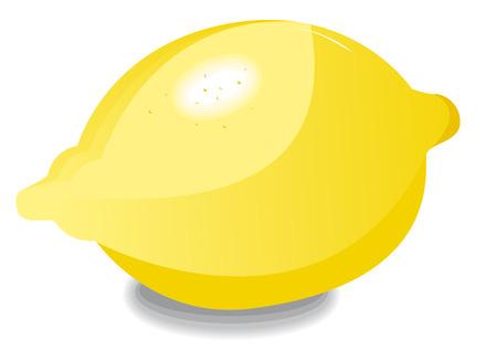 garlic bread: one lemon alone Illustration