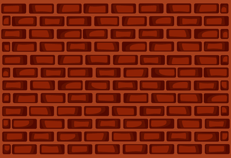 Red Brick Wall Template Design. Royalty Free Cliparts, Vectors, And ...