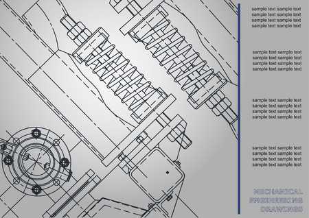 measuring cup: Mechanical engineering drawings. Cover, Label, Background for inscription. Corporate Identity