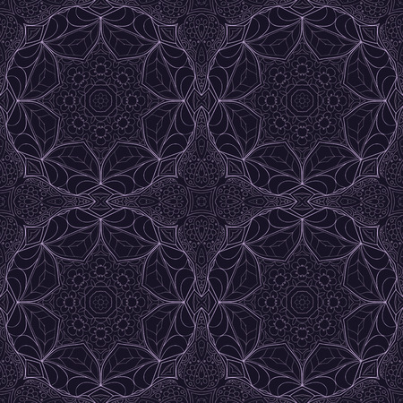 A Seamless Mandala pattern of  ornament for your creativity. Illustration