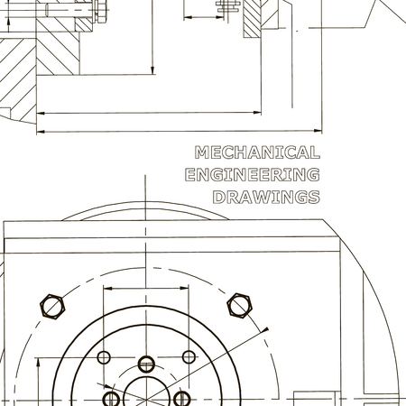 Mechanics. Technical design. Engineering style. Mechanical. Corporate Identity