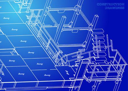 Metal constructions. Volumetric constructions. 3D