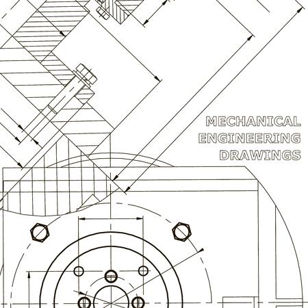 Mechanics. Technical design. Engineering. Mechanical Corporate Identity