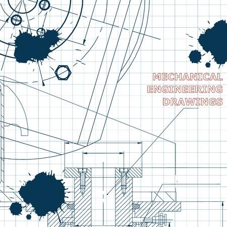 Mechanics. Technical design Draft Ink Blots
