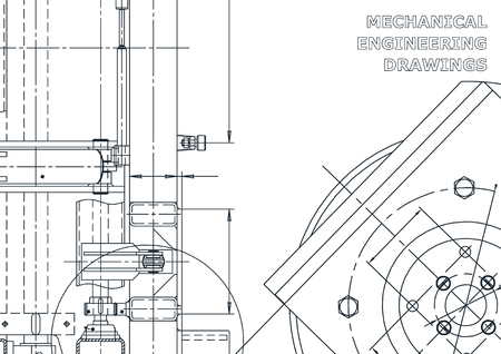 Mechanical instrument making. Technical abstract backgrounds. Technical Ilustrace
