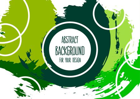 Universal background. Abstract background for your design. Colorful elements. Cover, flyer, banner web print Ilustracja