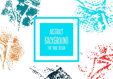 Universal background. Abstract background for your design. Colorful elements. Cover, flyer. Creative Ilustracja