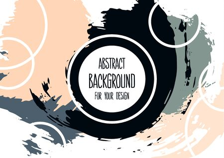 Universal background. Abstract background for your design. Colorful elements. Cover, flyer, banner, web, print. Wallpaper