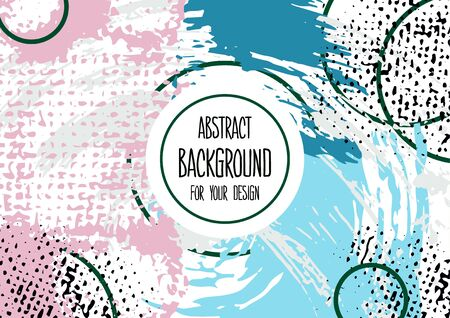 Abstract background for your design. Universal background. Cover, flyer banner Ilustracja