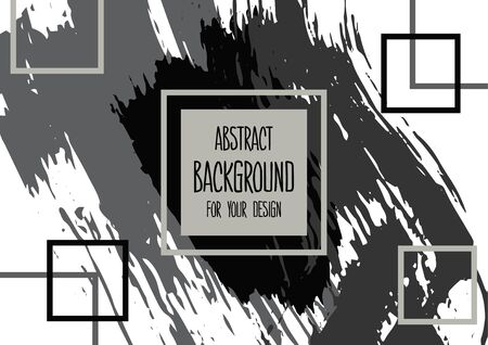 Universal background. Abstract background for your design. Colorful elements. Cover, flyer, banner, web, print. Acrylic paints. Wallpaper