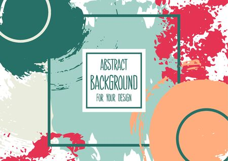 Universal background. Abstract background for your design. Cover, flyer, banner. Creative