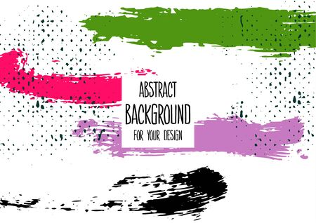 Universal background. Abstract background for your design. Colorful elements. Cover. Creative