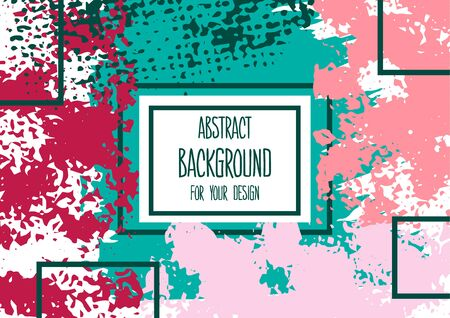Universal background. Abstract background for your design. Colorful elements. Cover, flyer, banner, web. Creative