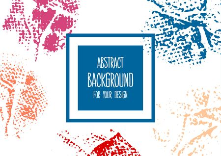 Universal background. Abstract background for your design. Colorful elements. Cover, flyer Ilustracja