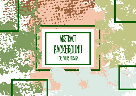 Universal background. Abstract background for your design. Colorful elements. Cover, flyer, banner, web Ilustracja