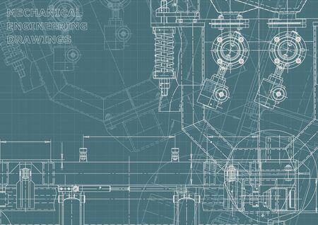 Computer aided design systems. Blueprint, scheme. Corporate Identity