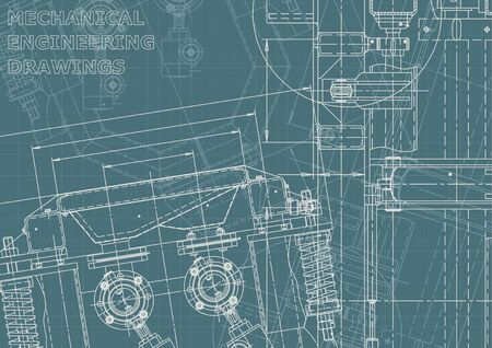 Machine-building industry. Instrument-making drawings. Computer aided design system. Corporate Identity