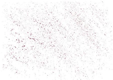 Distressed overlay texture. Pink background grunge texture. Subtle halftone grunge urban texture vector. Old vintage scratches, stain, paint splats, stripes Ilustracja