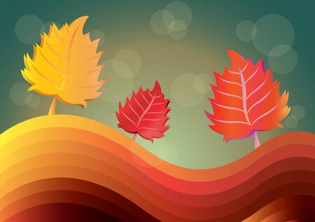 melancholy: autumn landscape